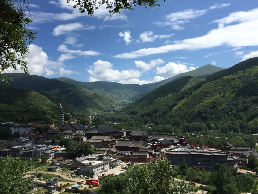 Mt. Wutai, a UNESCO World Heritage Site and location of Pushou Temple