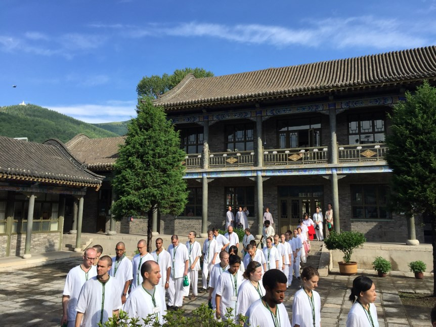 Touring the Buddhist College