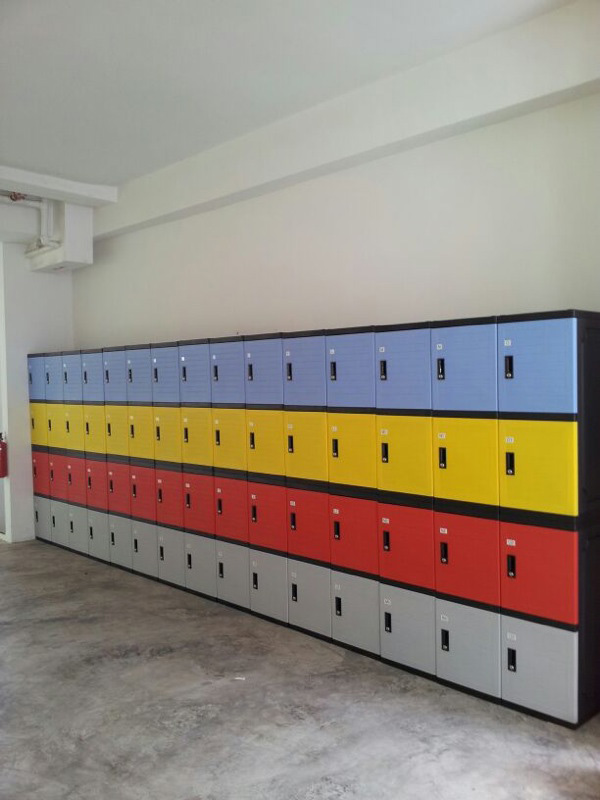 plastic locker