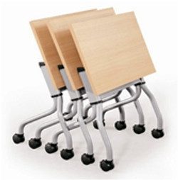 rect table folding