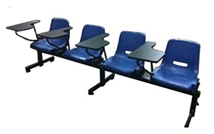 4-seater lecture chair a