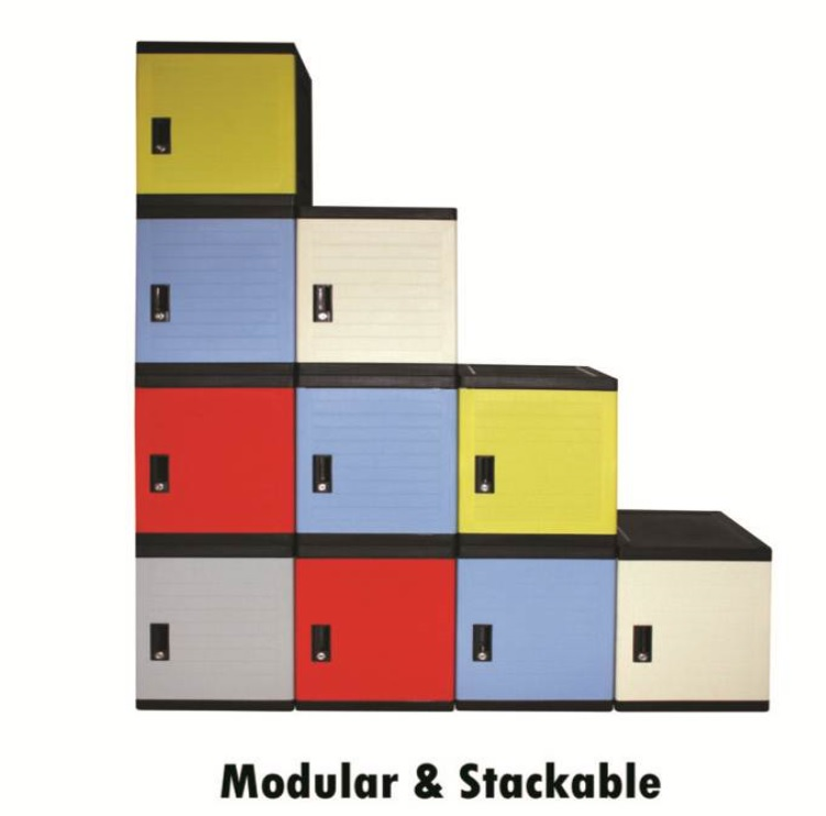 Cube stacking