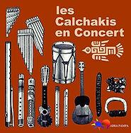 Los Calchakis en Concert - Abra Pampa Éditions