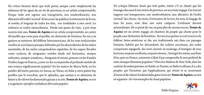 Tomás de Aquino - Venezuela -  Abra Pampa