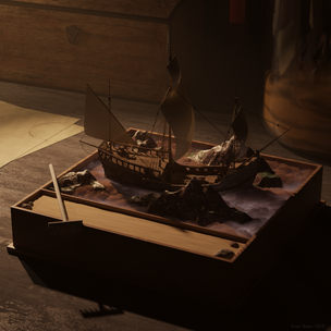 Ship In a Zen Garden