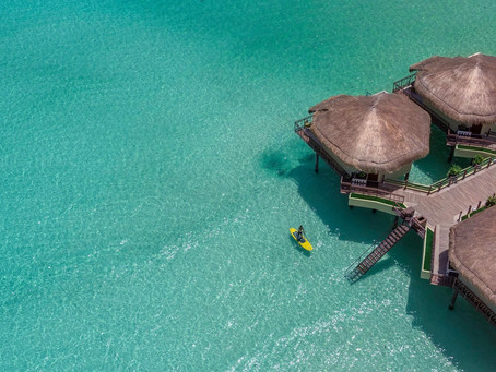 Palafitos-Overwater Bungalows in Mexico