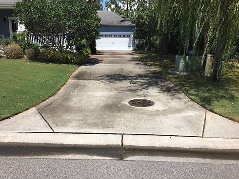 PMI website Driveway Cleaning Before ima