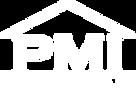 PMI Compact Logo in all white No Backgro