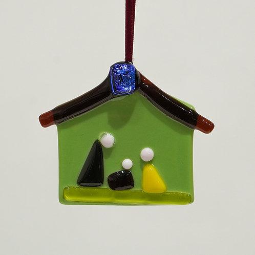 """Nativity"" ornament"