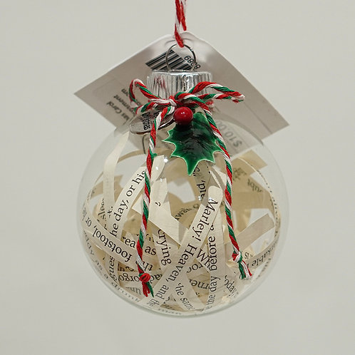 """A Christmas Carol"" ornament"