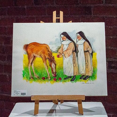 """""""Nun with Horse"""""""