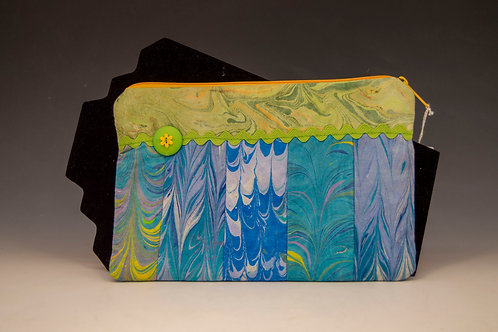 Zippered Cotton Lunch Bag