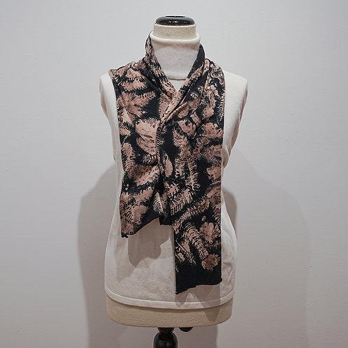 Black/Brown Jersey scarf