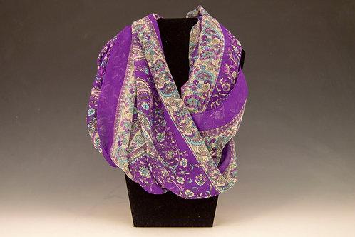 """Purple Paisley Infinity """"Narf"""""""