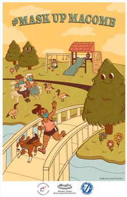 #MaskUpMacomb Poster 2020