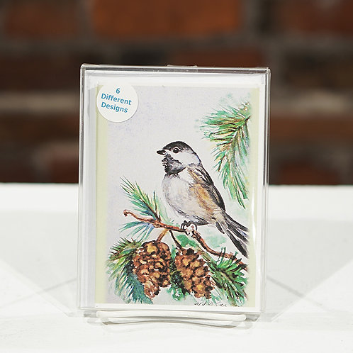 """""""Holiday Birds"""" boxed cards"""