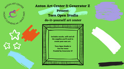 Join us to explore your creative side and try out new media and tools