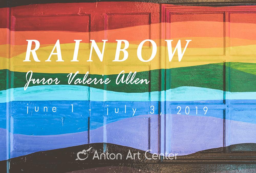 Rainbow postcard image