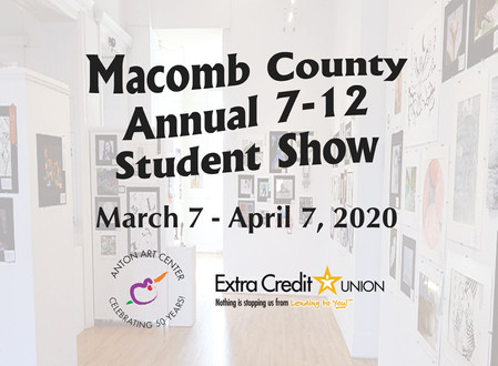 Macomb County Annual Secondary Student Show