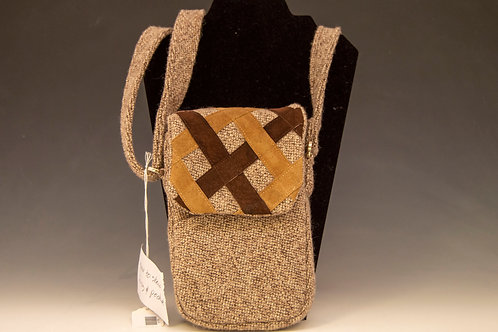 Wool and Suede Purse