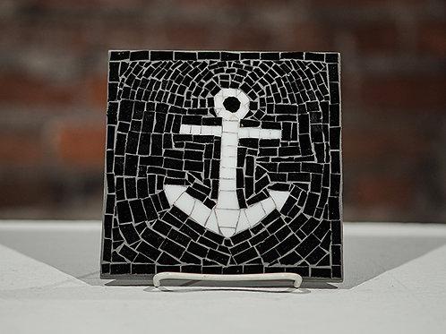 """""""Anchor"""" glass mosaic"""