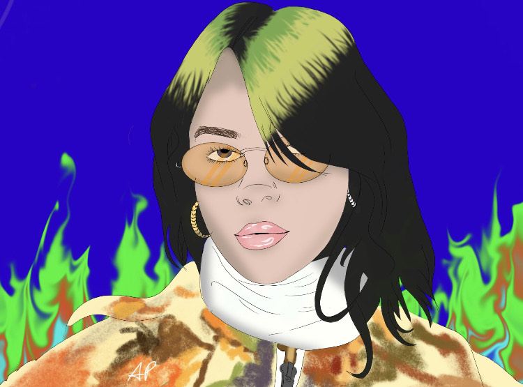 Billie Eilish - Digital Art