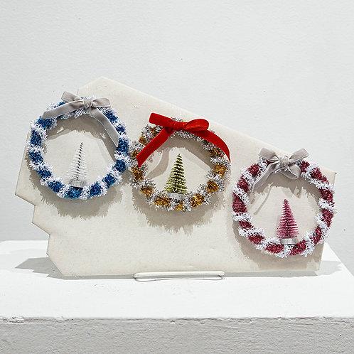Tinsel Wreath ornament
