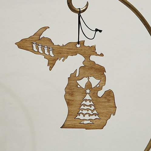"""Michigan"" ornament"