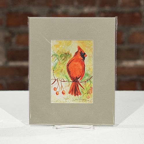 Male Cardinal print