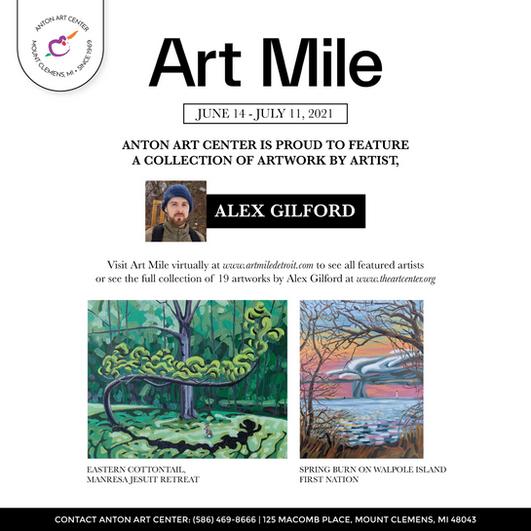 Art Mile Detroit 2021