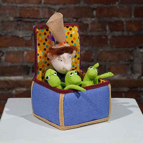 """""""Fred in a Box with Frogs"""""""