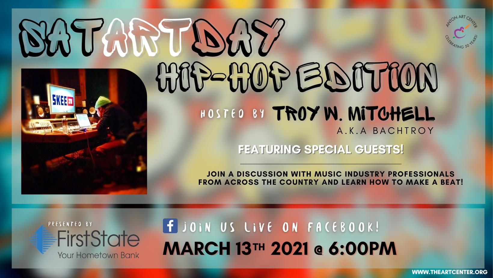 SatARTday hip-hop 2