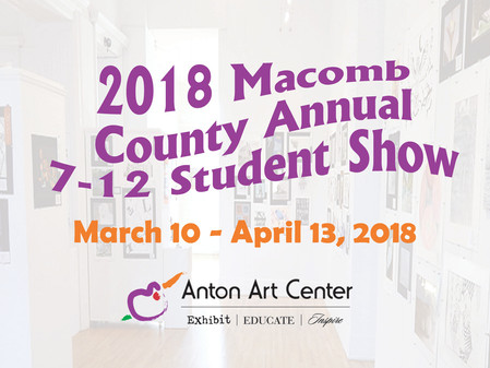 Annual Macomb County Secondary Student Show