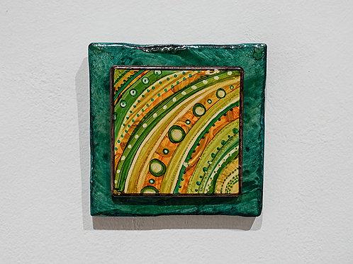 """Green Designs"" tile"