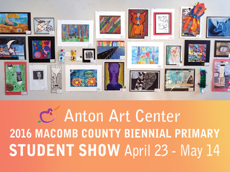 2016 Biennial Macomb County Primary Student Show