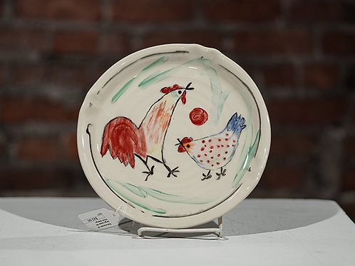 """""""Chickens"""" plate"""