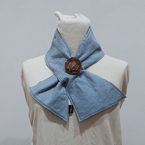 Light Blue Neckwrap