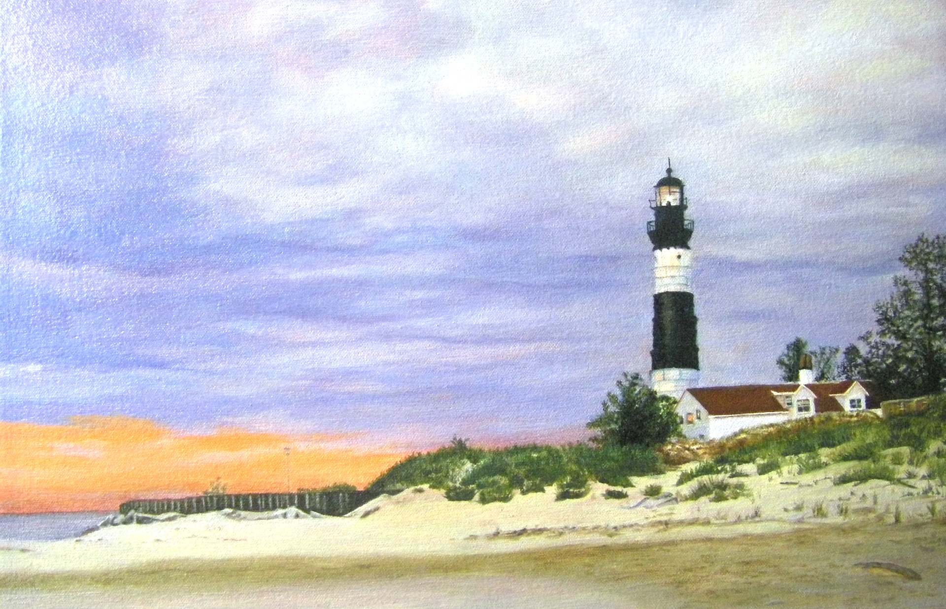 28. Big Sables Lighthouse