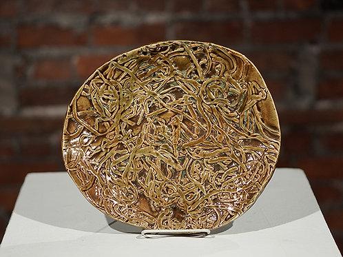 """Spaghetti"" plate"
