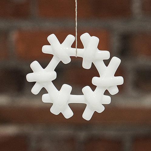 """Snowflake"" ornament"