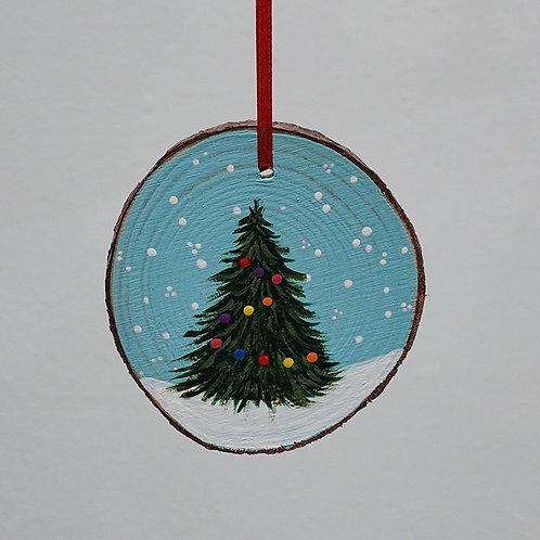"""""""Holiday Tree"""" ornament"""