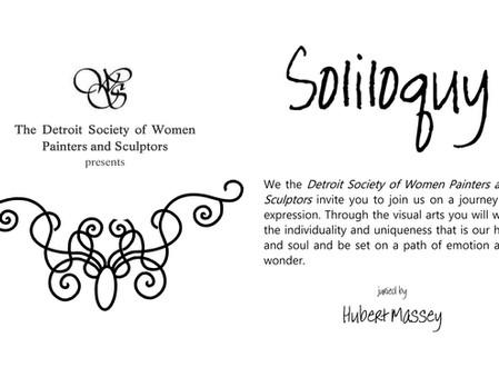 Detroit Society of Women Painters & Sculptors presents Soliloquy
