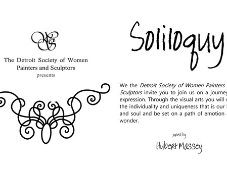 Detroit Society of Women Painters & Sculptors presents Soliloquy