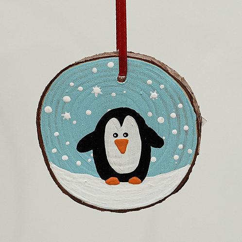 """Penquin"" ornament"