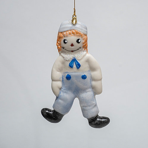 """""""Raggedy Andy"""" ornament"""