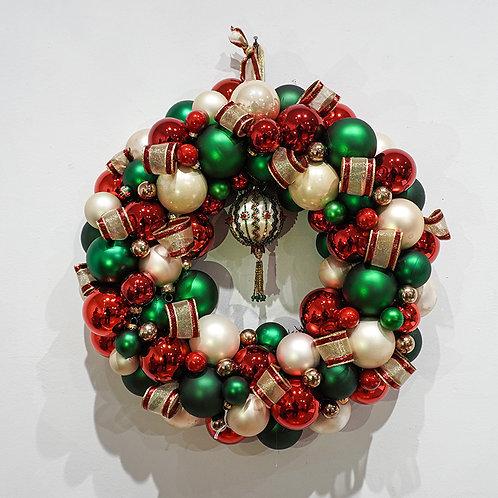 """Ribbons"" wreath"