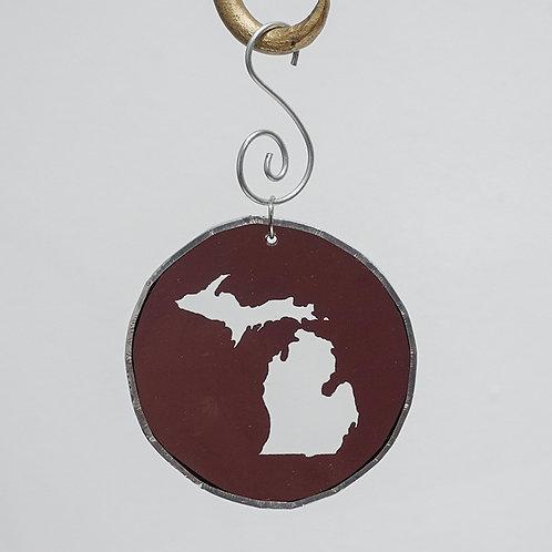 """Michigan"" suncatcher"
