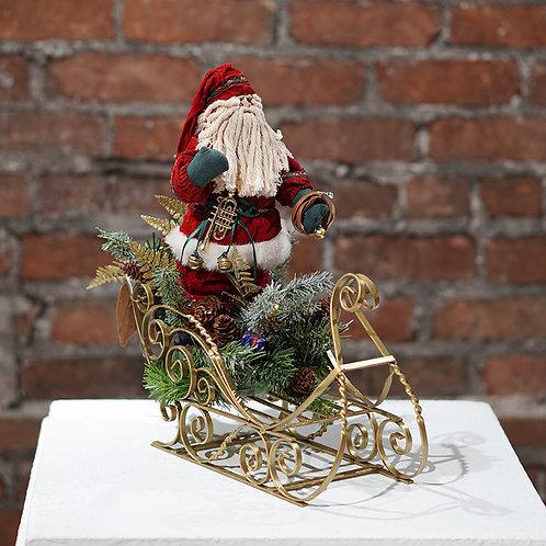 """Old St. Nick"" table-top arrangement"