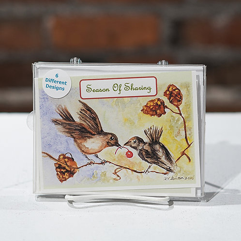 """Season of..."" boxed cards"
