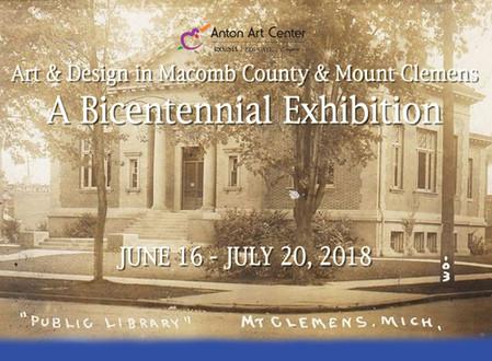 Art & Design in Macomb County & Mount Clemens: A Bicentennial Exhibit